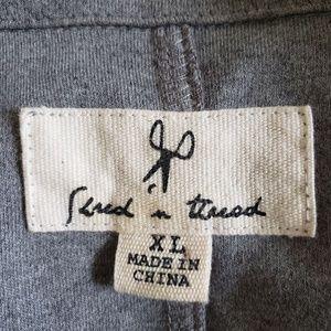 shread & Thread Jackets & Coats - Shread & Thread mens Jersey knit Blazer MX